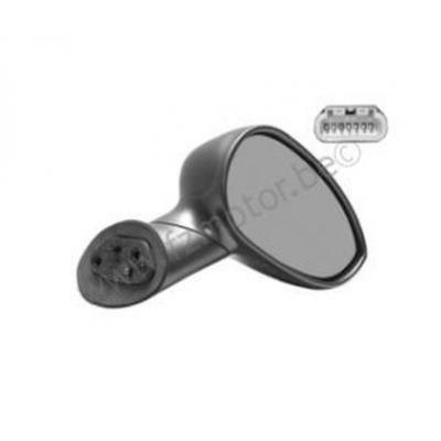 RIGHT WING MIRROR BELLIER B8 BLACK