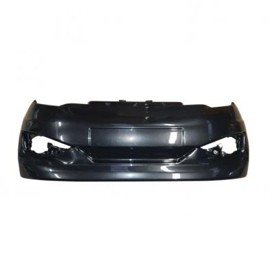 FRONT BUMPER ADAPTABLE AIXAM VISION 2013 ABS CARBONE